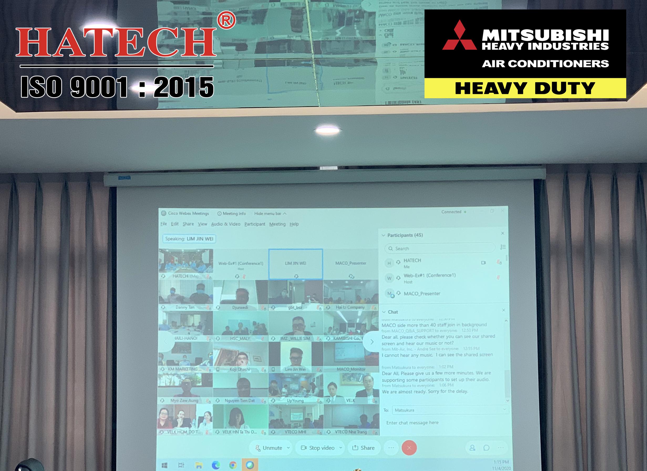 Nhà máy Maco tổ chức họp trực tuyến giới thiệu sản phẩm mới